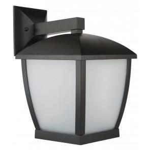 Ashby Modern Coach Wall Light in Black Brilliant Lighting
