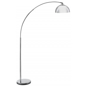 Belle Floor Lamp in Chrome Brilliant Lighting