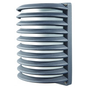 Corfu Louvered Wall Light Brilliant Lighting