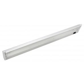 Greta T5 Slim Line Vanity Light in Matt Silver Brilliant Lighting