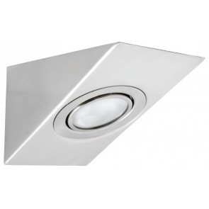 Lisbon Cabinet Light in Brushed Chrome Brilliant Lighting
