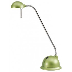 Moby Desk Lamp in Green Brilliant Lighting