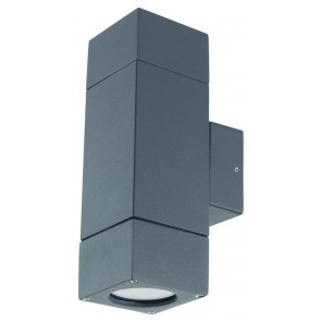Ormond Block Up / Down Wall Light Brilliant Lighting