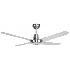Somers 132cm Stainless Steel Fan Blades with No Light Brilliant Lighting
