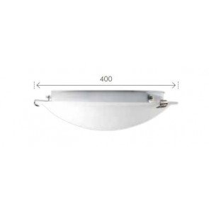 Spirelet Round Flush Ceiling Light Brilliant Lighting