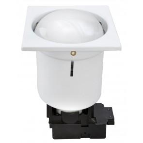 Uni Fluorescent Recessed Light in White Brilliant Lighting