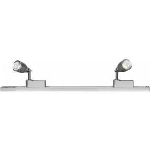 Upfield 2 Light LED Track and Spotlight Kit Brilliant Lighting