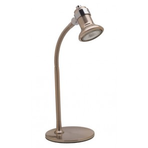 Vogue Flex Arm Desk Lamp in Brushed Chrome Brilliant Lighting