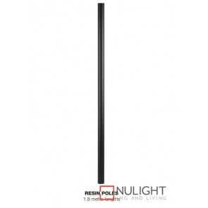 Pole Plycarbonate 60Mm X 1.8M Black ASU