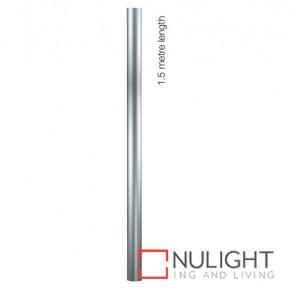 Pole Plycarbonate 60Mmx1.5M Silver ASU