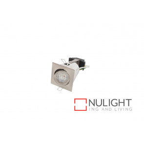 Square Gimbal Satin Chrome GU10 downlight VAM