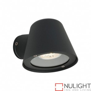 Cairns 1 Light Black GU10 35W Halogen COU