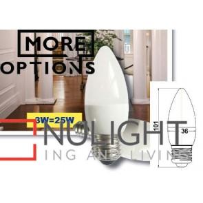 3W Candle LED Lamps CLA