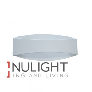 WALL INTERNAL Surface Mounted CITY LED MATT White CURVED Up Down 6W 120D 3000K (394 lumens) CLA