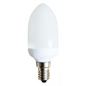 240V 11W Mini Candle Globe Energy Saving Fluorescent Bulb - 8000 Hours CLA Lighting