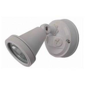 240V G9 Single Security Spotlight in White CLA Lighting