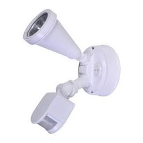 240V G9 Single Sensor Security Spotlight in White CLA Lighting