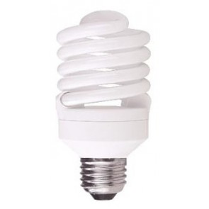 240V T2 25W ES Spiral Fluorescent Bulb 10000 Hours CLA Lighting