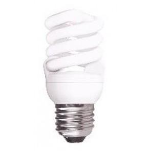240V T2 9W ES Spiral Fluorescent Bulb 10000 Hours CLA Lighting
