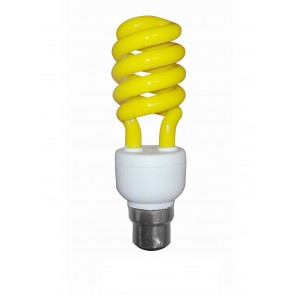 Anti Insect Spiral Yellow Bug Light BC CLA Lighting