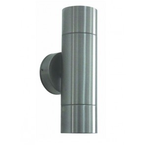 Up / Down Long Body Stainless Steel Wall Pillar Light CLA Lighting