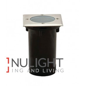 INGROUND UPLIGHTER SS316 Square MR16 12V IP67 CLA