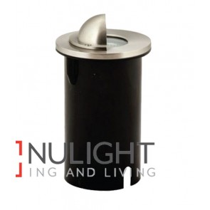 INGROUND UPLIGHTER SS Round MR16 12V IP67 with HOOD CLA