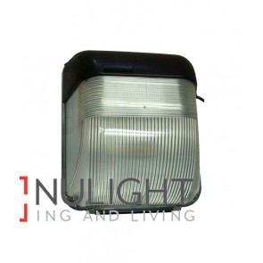 BULKHEAD / WALL LED AC Black Rectangular 5000K 20W IP65 (1200 Lumens) CLA