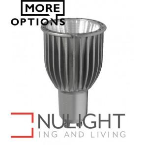 GU10 COB Silver LED Lamps CLA