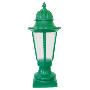 Boston Small Post Top on Pillar Mount - Type A Classic Exteriors