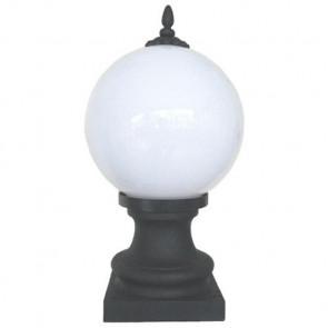 Special Designs Sphere Aluminium Pillar Mount Classic Exteriors