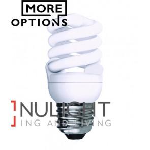 GLOBE CFL ES T2 SPIRAL 15W 2700K (900 Lumens) OZT215WESWW CLA