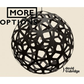 Coral Black David Trubridge Pendant DAV