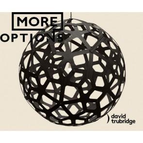 Coral Black David Trubridge Pendant DAV