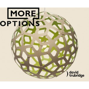 Coral Lime David Trubridge Pendant DAV