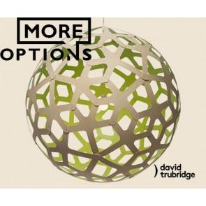 Coral Lime David Trubridge Pendant DAV