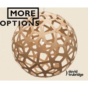 Coral natural David Trubridge Pendant DAV