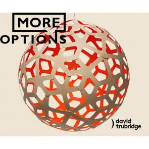 Coral Red David Trubridge Pendant DAV