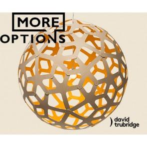 Coral Yellow David Trubridge Pendant DAV