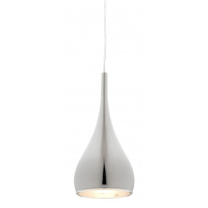 Aero 1 Light Pendant in Chrome Cougar