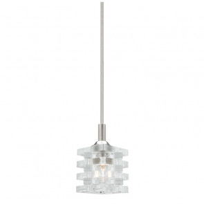 Ice 1 Light Ceiling Rod Pendant Cougar