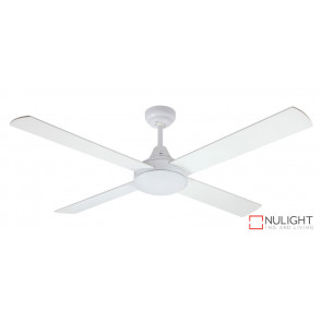 HARMONY - 48 inch 1200mm  4  x Timber Blade with quick connect wiring - White VTA