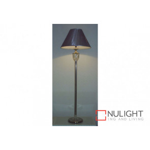 VM250 Windsor Floor Lamp Satin Chrome VAM