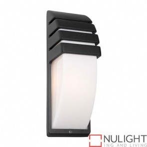 Darwin 1 Light Exterior Wall Light Black COU