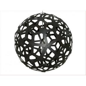 PE0041 Coral Pendant Black Stain David Trubridge