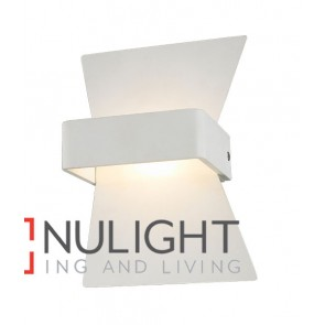 WALL INTERNAL Surface Mounted CITY LED MATT White BOW 6W 120D 3000K (254 Lumens) CLA