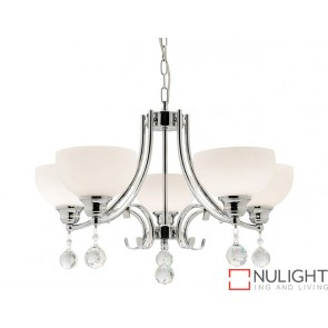Derwent 5 Light Pendant COU