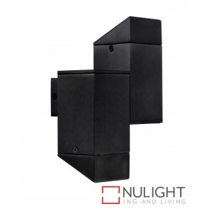 Deuce LED Up-Down Exterior Wall Light Black MEC