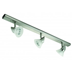 Four Light Adjustable Ceiling Spotlight with Step Glass Domus Lighting