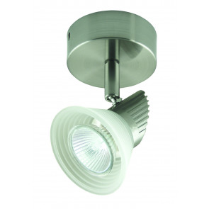 One Light Ceiling Spotlight with Step Glass Domus Lighting